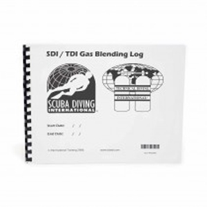 Gas Blending Logbook - Sea & Sea