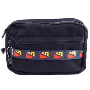 Bellows Horizontal Zip Pocket w/Daisy Chain