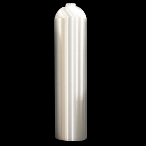 7 LITRE ALUMINIUM CYLINDER - BRUSHED FINISH