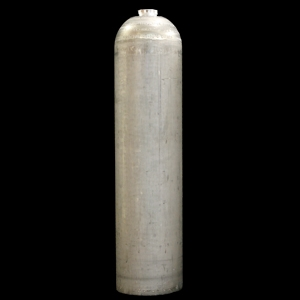 7 LITRE ALUMINIUM CYLINDER - NATURAL FINISH