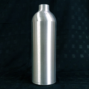 1.5 LITRE ALUMINIUM CYLINDER - BRUSHED FINISH