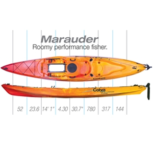 MARAUDER SIT-ON-TOP KAYAK - Sea & Sea