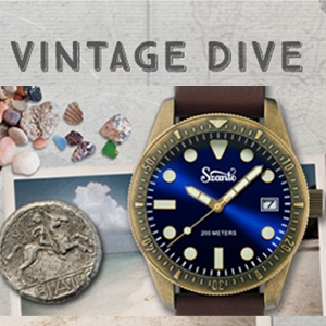 VINTAGE DIVE WATCH RANGE - Sea & Sea