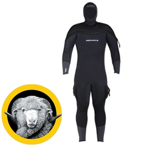 POLAR M8 SEMI-DRYSUIT - Sea & Sea
